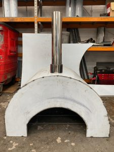 Bespoke Stainless Steel Pizza Oven